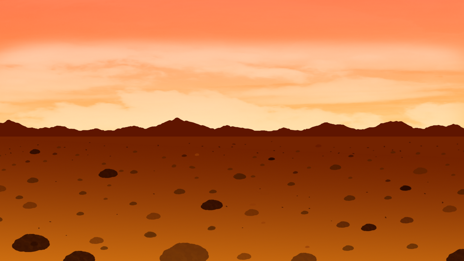 Mars clipart surface Used rocks texture matte surface
