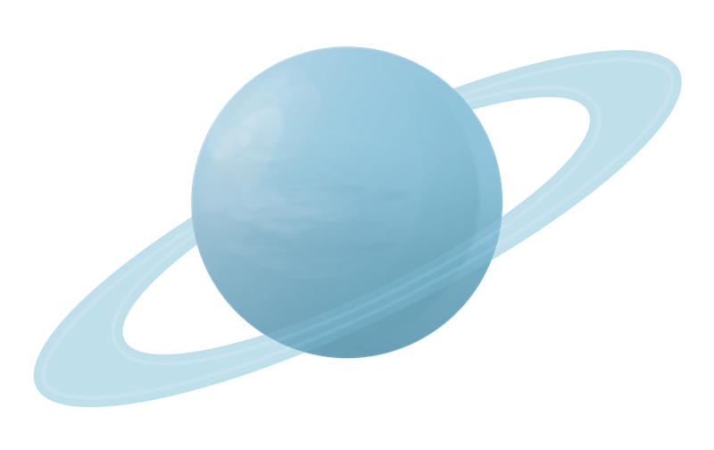 Planets clipart uranus Clip Uranus Art  Clip