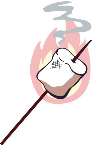 Roast clipart roasting marshmallow Clipart Panda Campfire campfire%20marshmallow%20clipart Free