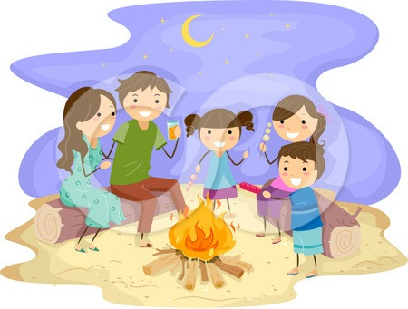 Marshmellow clipart bonfire party Family jpg (450×341) Design bonfire