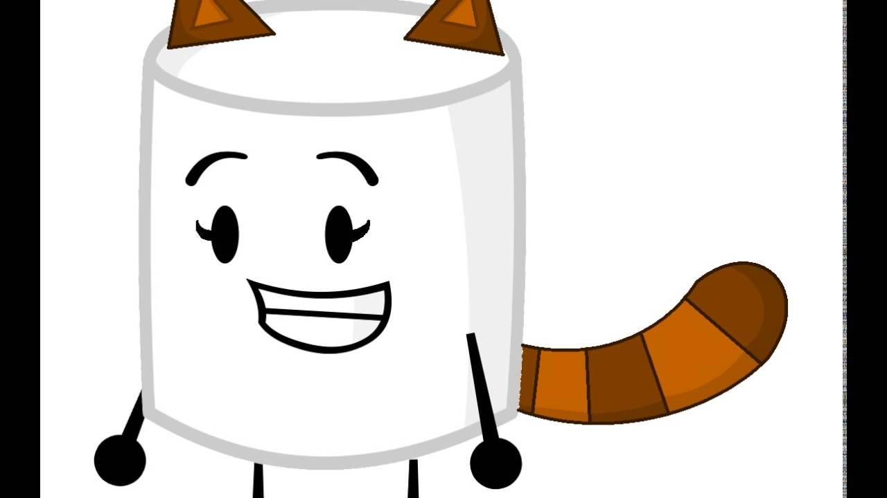 Marshmellow clipart inanimate insanity (For 11) (For YouTube Raccoon