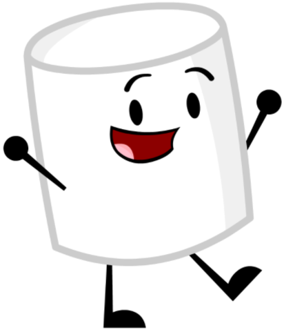 Marshmellow clipart inanimate insanity Png Inanimate Fandom Insanity Image