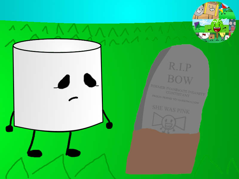 Marshmellow clipart inanimate insanity Bow Bow Insanity png png