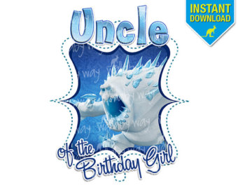 Marshmellow clipart monster Birthday Uncle Monster Ice as