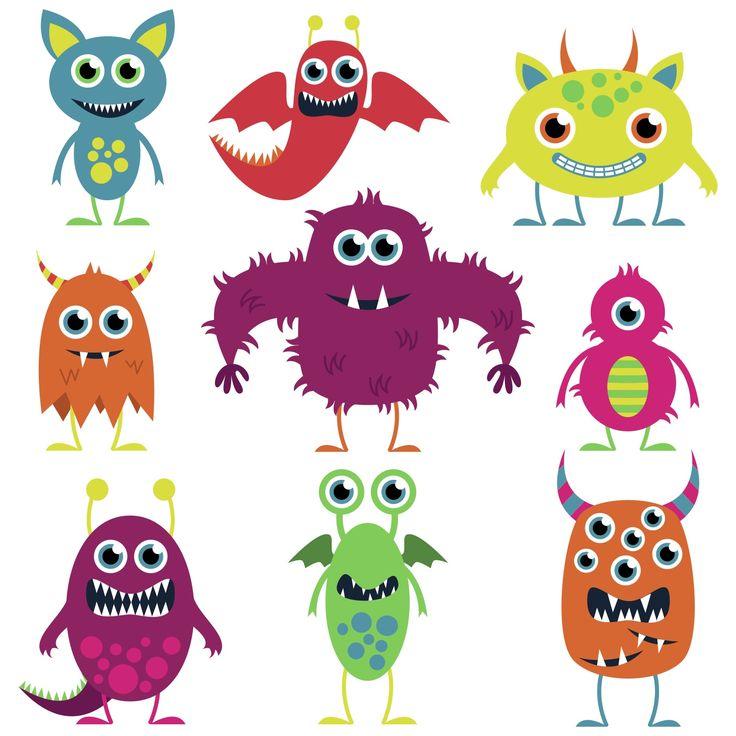 Marshmellow clipart monster 54 Google illustrations monsters on