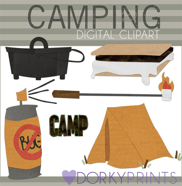 Camper clipart smore Clipart Marshmallow collection stick a