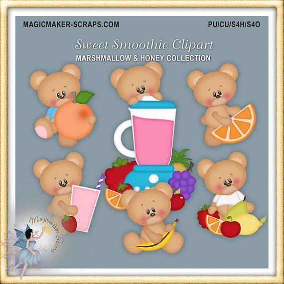 Marshmellow clipart sweet Teddy Sweet Clipart Fruits Teddy