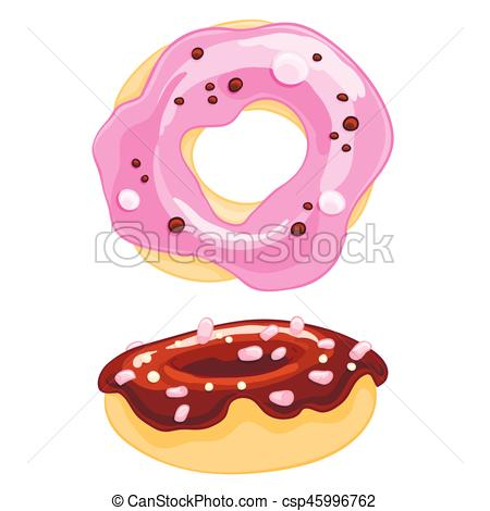 Marshmellow clipart sweet With of cartoon icons donut