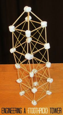 Marshmellow clipart sweet Noodles activities toothpicks Engineering