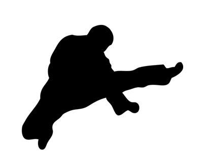Martial Arts clipart fighting position Martial 3 clip Karate Clipartix