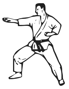 Martial Arts clipart #12
