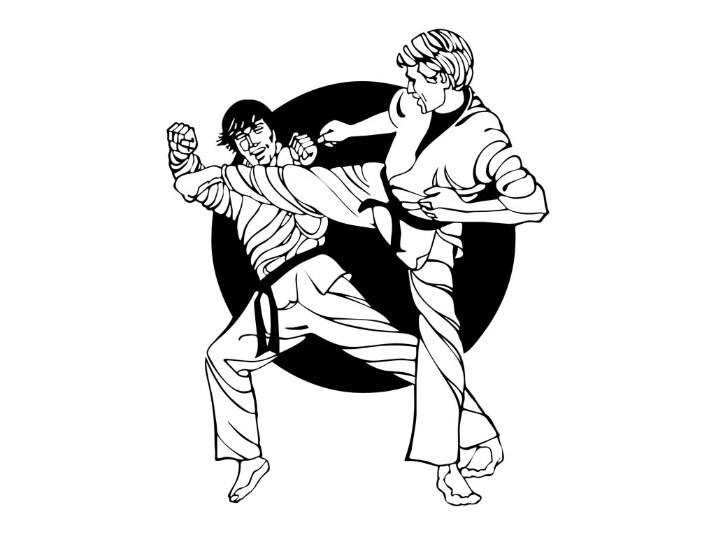 Martial Arts clipart animated Martial Arts Vectors Art Graphics