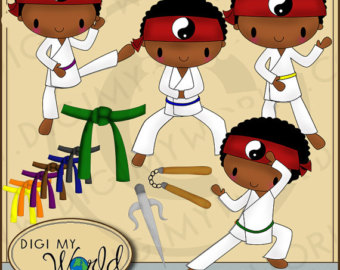Martial Arts clipart animated Kid clipart martial arts images