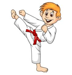 Martial Arts clipart animated Cartoon  vector martial Martial