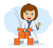 Martial Arts clipart cartoon Results Results Karate martial Size: