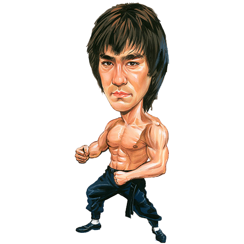 Martial Arts clipart famous person Pin Arts  Lee Find