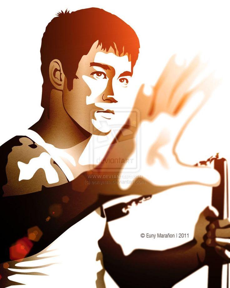 Martial Arts clipart famous person Fu Bruce arts Lee Kung