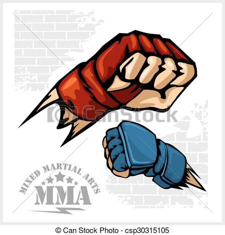 Martial Arts clipart fist punching Punch arts martial emblem of