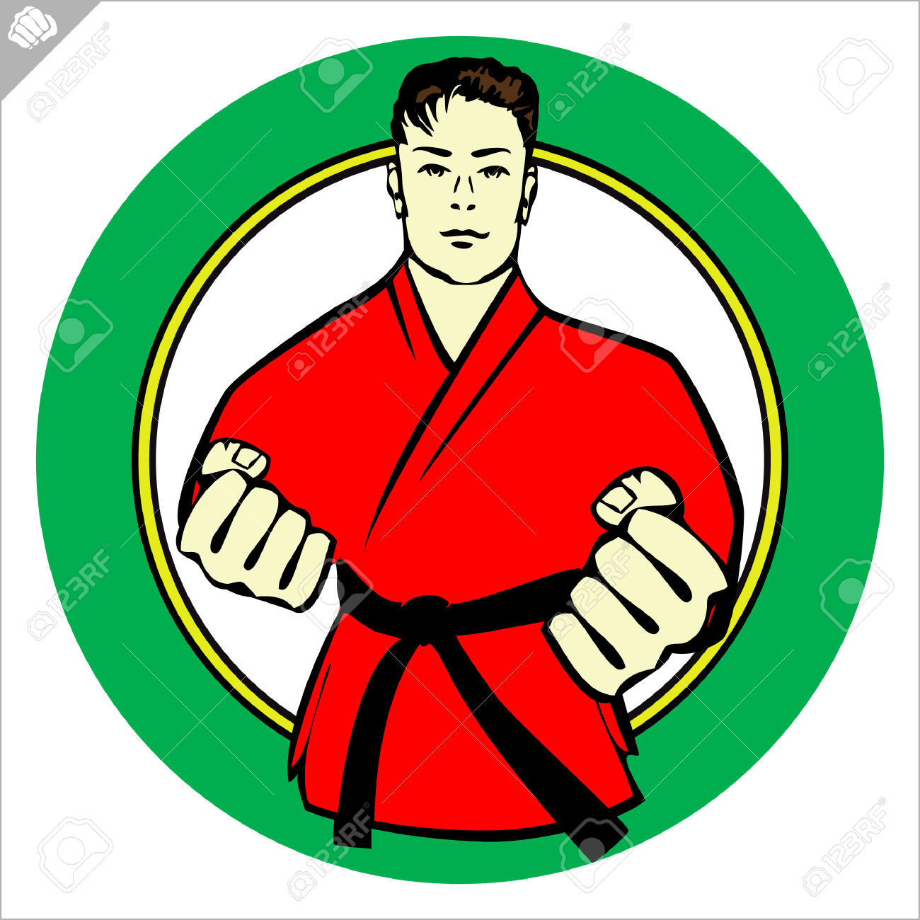 Martial Arts clipart fist punching Japan Martial Fist arts collection