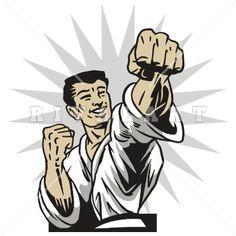 Fist clipart taekwondo Kids Arts Girls Karate