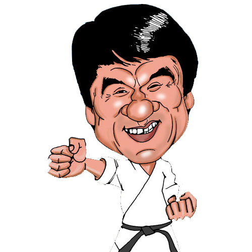 Martial Arts clipart jackie chan · Art & Chan People