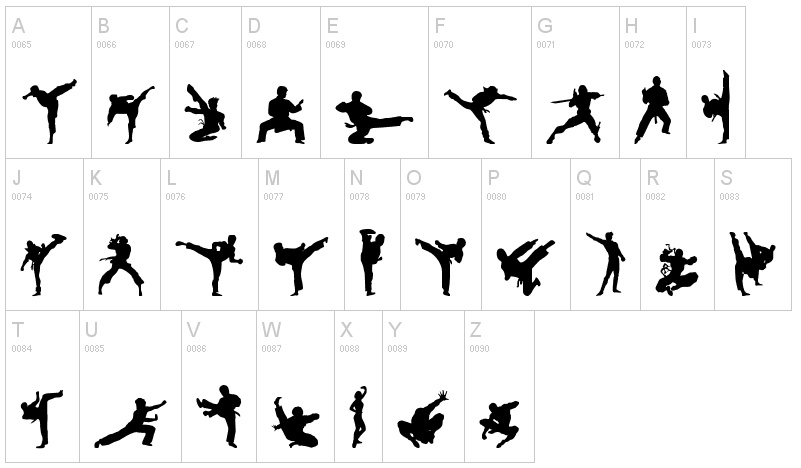 Martial Arts clipart karate chop And Arts Fontsi Karate com