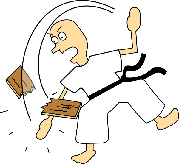 Martial Arts clipart karate chop Search search arts Karate pictures