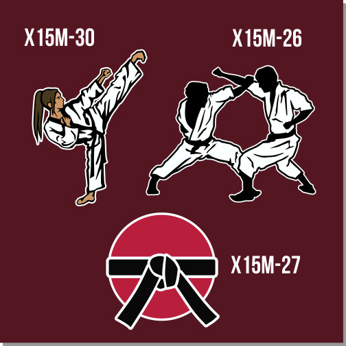 Martial Arts clipart fighting position Separated be MMA specific growing