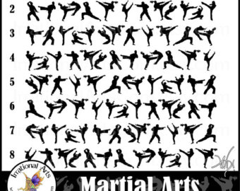 Martial Arts clipart martail Graphics Martial digital Arts 8