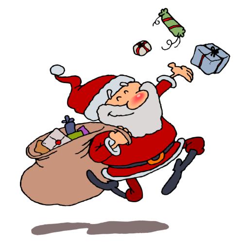 Moving clipart santa claus Clip Clip Art Art Download