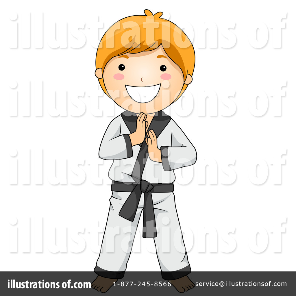Martial Arts clipart santa BNP Illustration by Clipart by