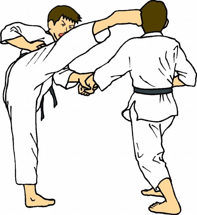 Martial Arts clipart santa Clipart Pinterest 20 Clip Karate