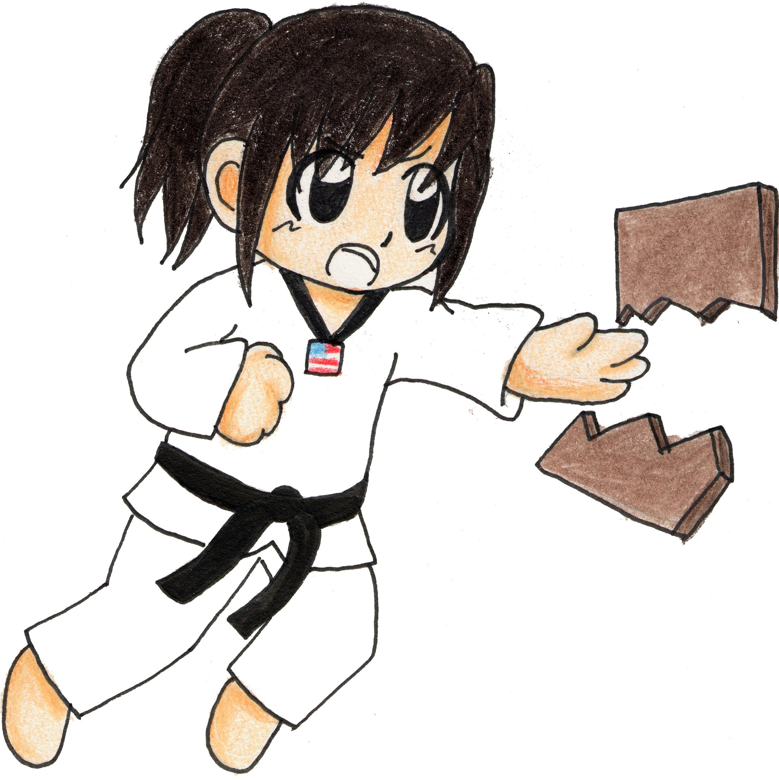 Martial Arts clipart taekwondo kicks Taekwondo Martial Art Clip Free