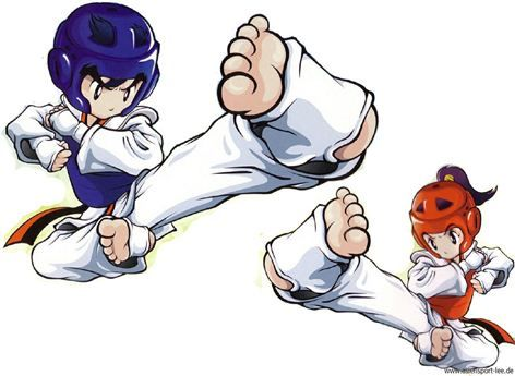 Martial Arts clipart taekwondo kicks Clip art Arts about best