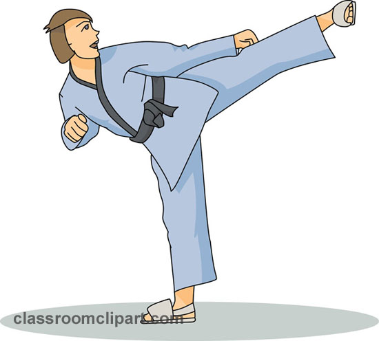 Martial Arts clipart taekwondo kicks Sports karate Images 4 pictures