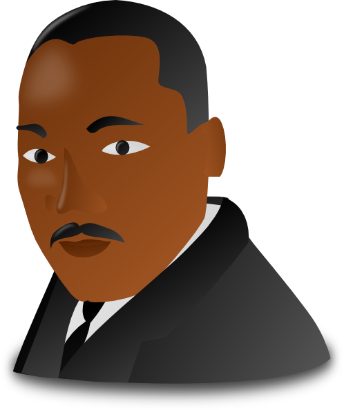 Martin Luther King clipart At Martin Download as: vector