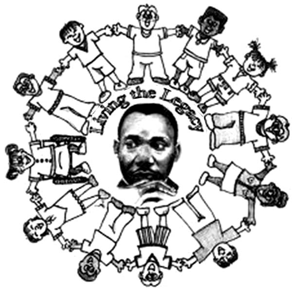 Martin Luther King clipart Martin Luther King Coloring Page King Living Luther Jr the