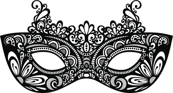 White clipart masquerade mask Mask clipart 3 Masquerade kid