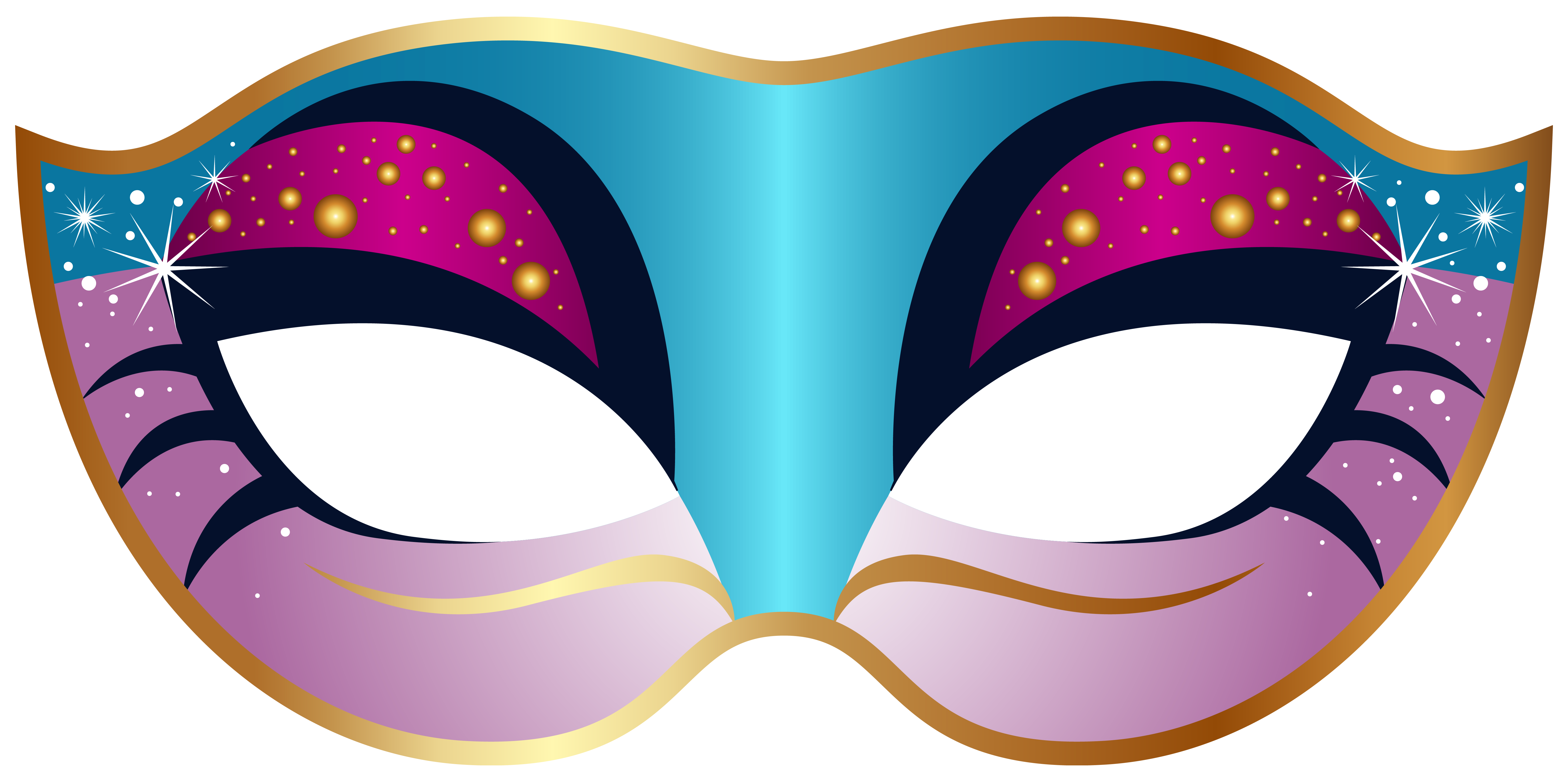 Mask clipart Clipartix mask Blue art and
