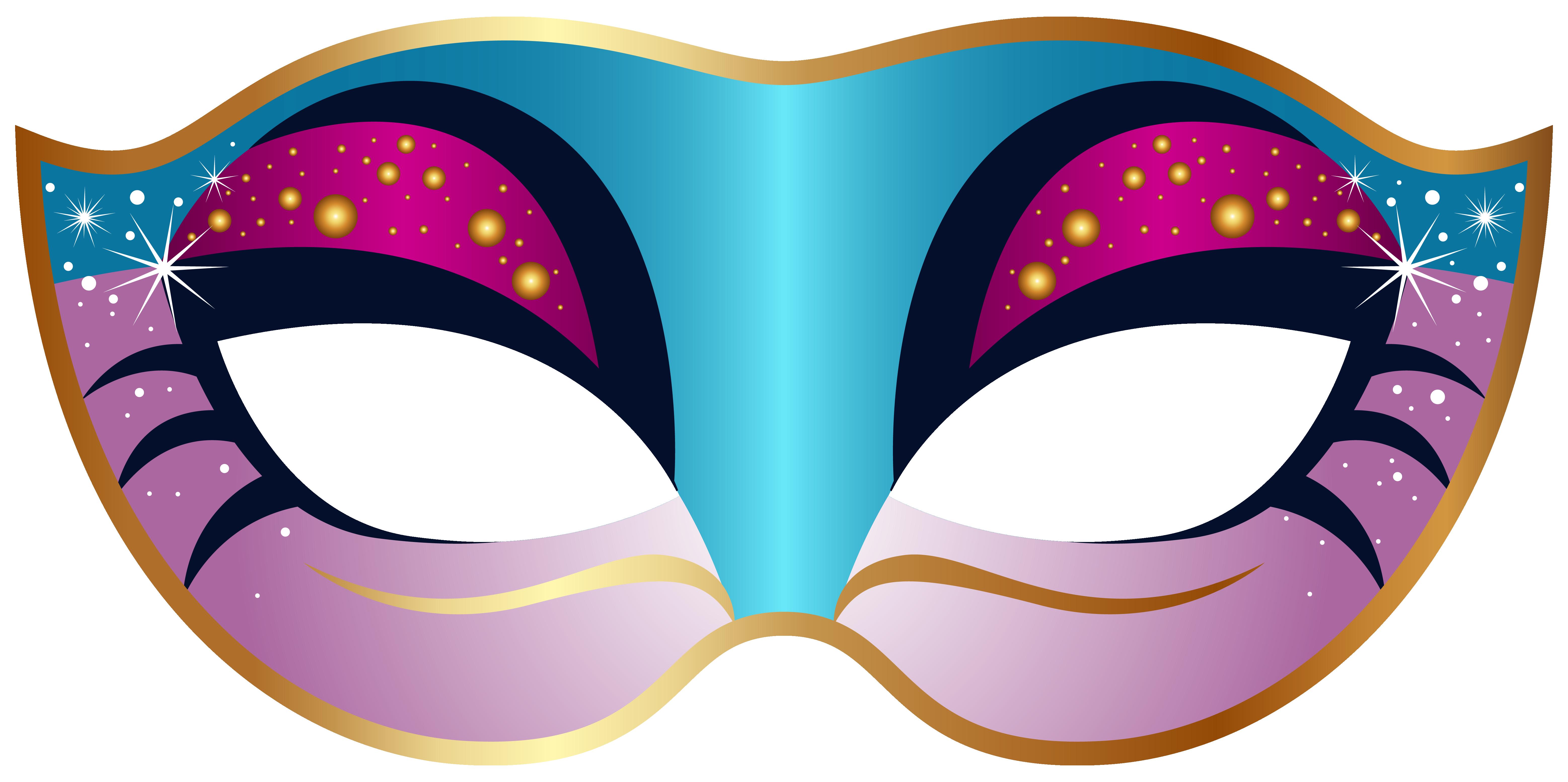 Carneval clipart carnival mask Blue clip clip art image