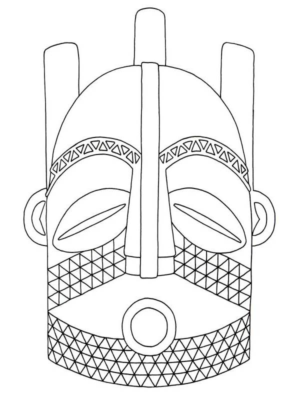 Mask clipart aboriginal Biombo Mask Clip Clip Art