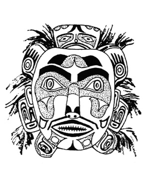 Mask clipart aboriginal Pinterest on Decorative patterns Indian