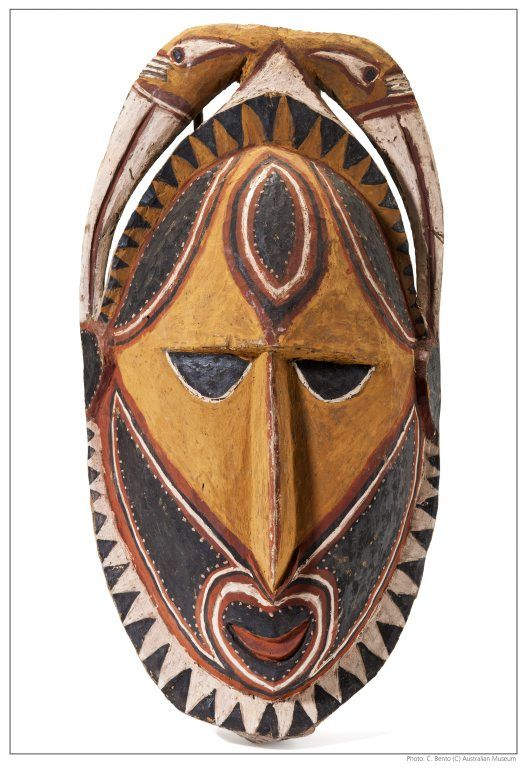 Mask clipart aboriginal New Art guinea 25 melanesia