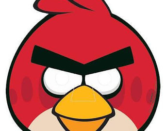 Mask clipart angry bird Angry Masks Angry Paper 8ct