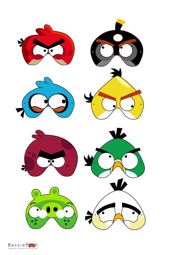 Mask clipart angry bird Best mientras parte Mascaras Angry