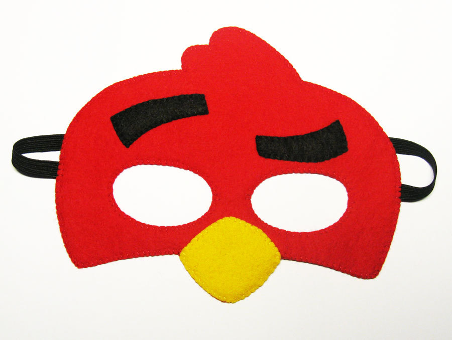 Mask clipart angry bird Kids red  Bird Angry
