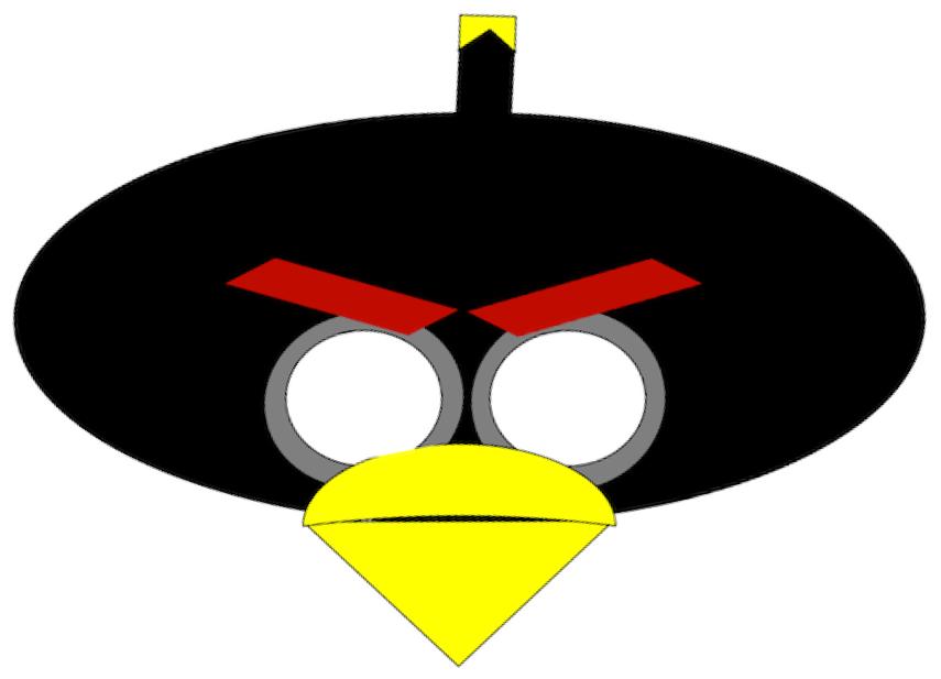 Mask clipart angry bird Of Halloween Birds Free Halloween
