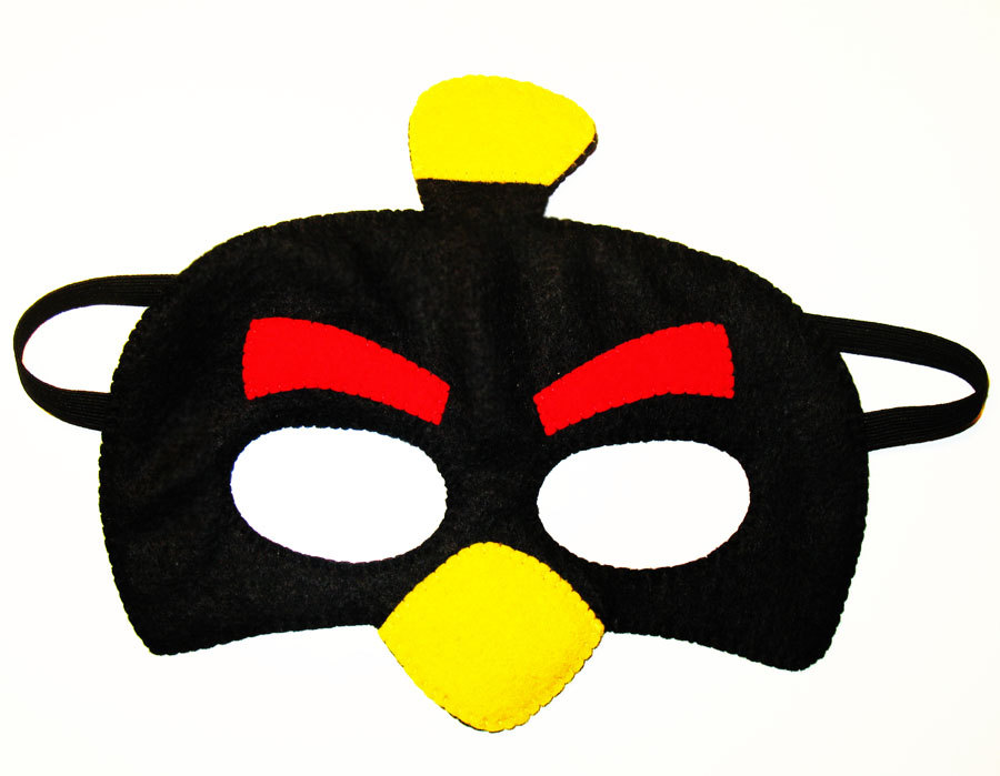 Mask clipart angry bird Costume for felt Angry Like