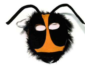 Mask clipart ant Mask Bug Animal Bee Child's