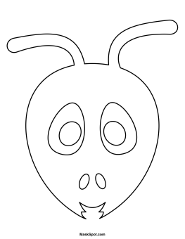 Mask clipart ant To Masking Mask Printable op